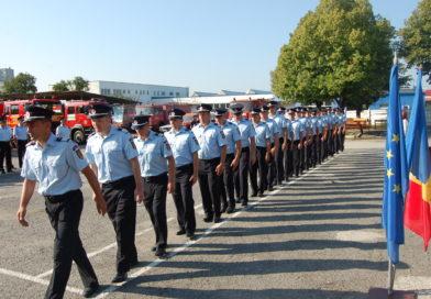 Avansări în grad la ISU Alba. 2 ofițeri și 32 subofițeri au fost înaintați la termen. Comunicat
