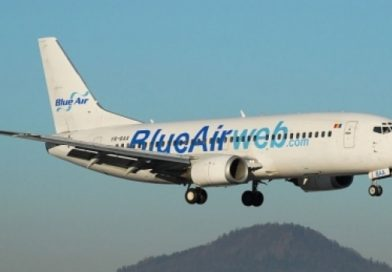 Blue Air introduce zboruri de la Cluj către Iași și Timișoara