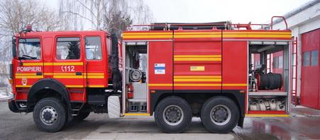 Pompierii voluntari din județul Alba s-au întrecut în aptitudini