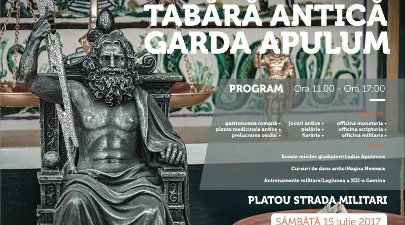 Garda Apulum continuă reprezentațiile de week-end la Alba Iulia