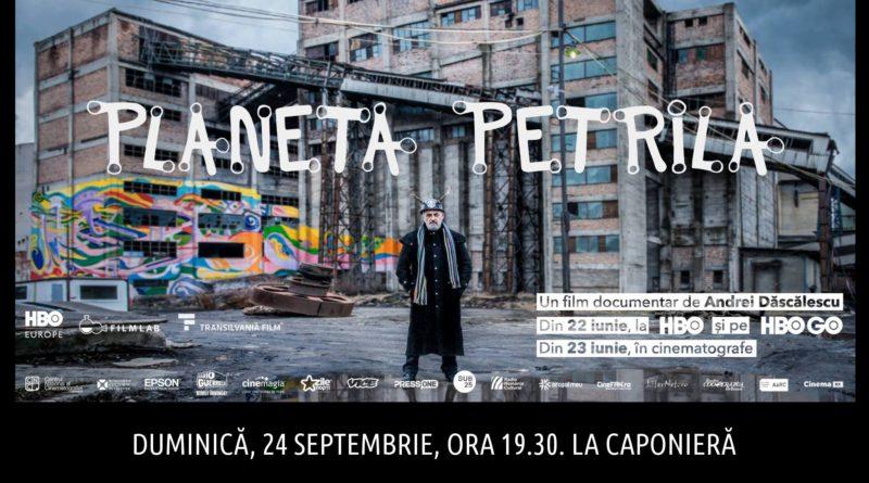 """Două seri de film la Caponieră. """"Un pas înaintea serafimilor"""" și """"Planeta Petrila"""" proiectate de Forum Apulum"""