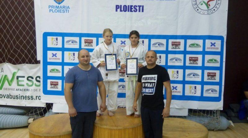 Argint pentru judokanele albaiuliene la Campionatul Național