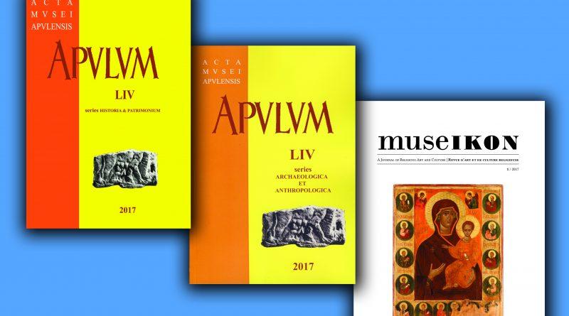 Revista de istorie Apulum a împlinit 70 de ani. Astăzi s-a lansat și revista Museikon