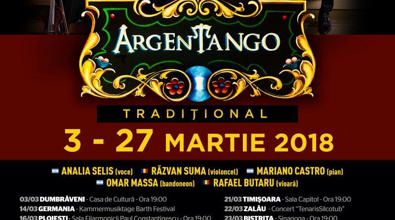Analia Selis și ArgEnTango aduc tangoul tradițional argentinian  pe scena din Alba Iulia