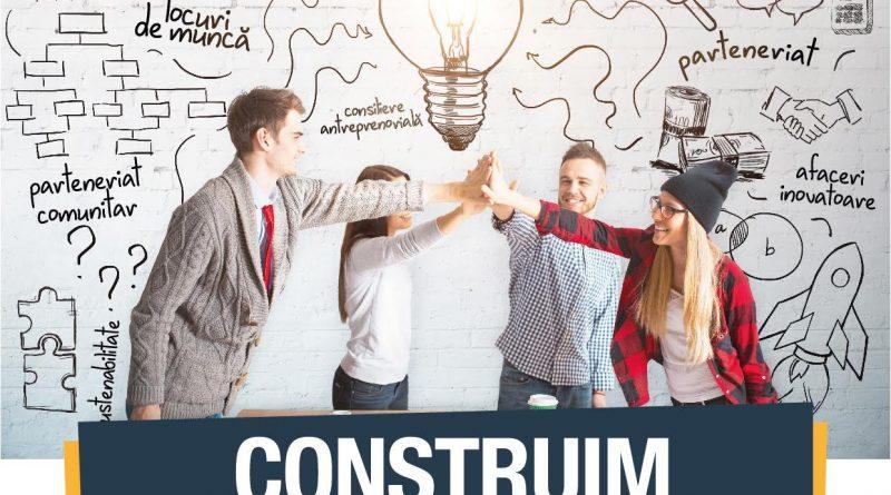 """Luni, 19 Februarie: conferința de lansare a proiectului """"Construim antreprenori responsabili pentru o dezvoltare durabilă!"""""""