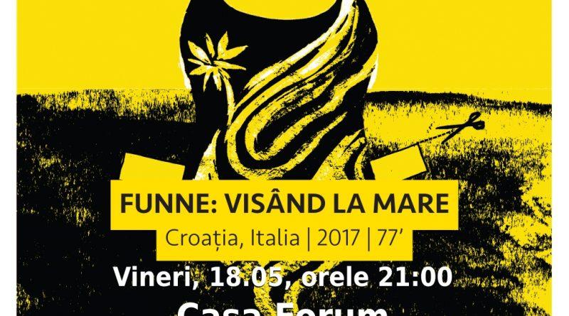 """Seria """"Proiecții cu reflecții"""" de la Forum Apulum continuă cu documentarul """"Funne: Visând la Mare"""""""