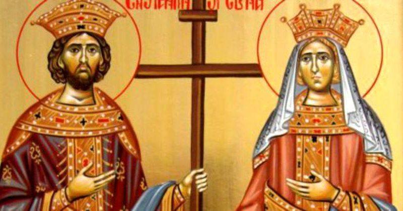 Municipiul Aiud. Felicitări tutror celor ce poartă numele de Elena și Constantin