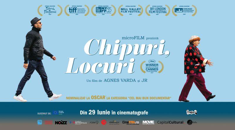 """""""Chipuri, locuri"""", de Agnès Varda şi JR,  un imn adus bucuriei de a trăi, o lucrare complexă"""