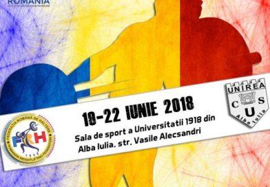 Alba Iulia, 18-22 Iunie. Campionatul Național de Haltere Under 17
