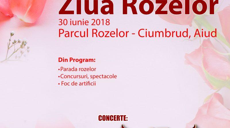 """""""Ziua Rozelor"""" de la Aiud, la cea de-a XVII-a ediție"""