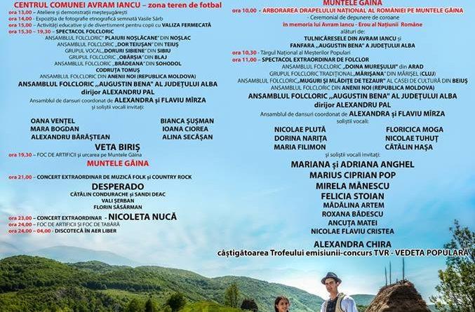 În week-end pe Muntele Găina. Cea mai mare şi mai cunoscută sărbătoare populară din România