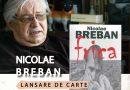 Academicianul Nicolae Breban, invitat al Târgului de Carte Alba Transilvana,