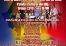 Spectacol folcloric dedicat Marii Adunării Naționale de la Blaj