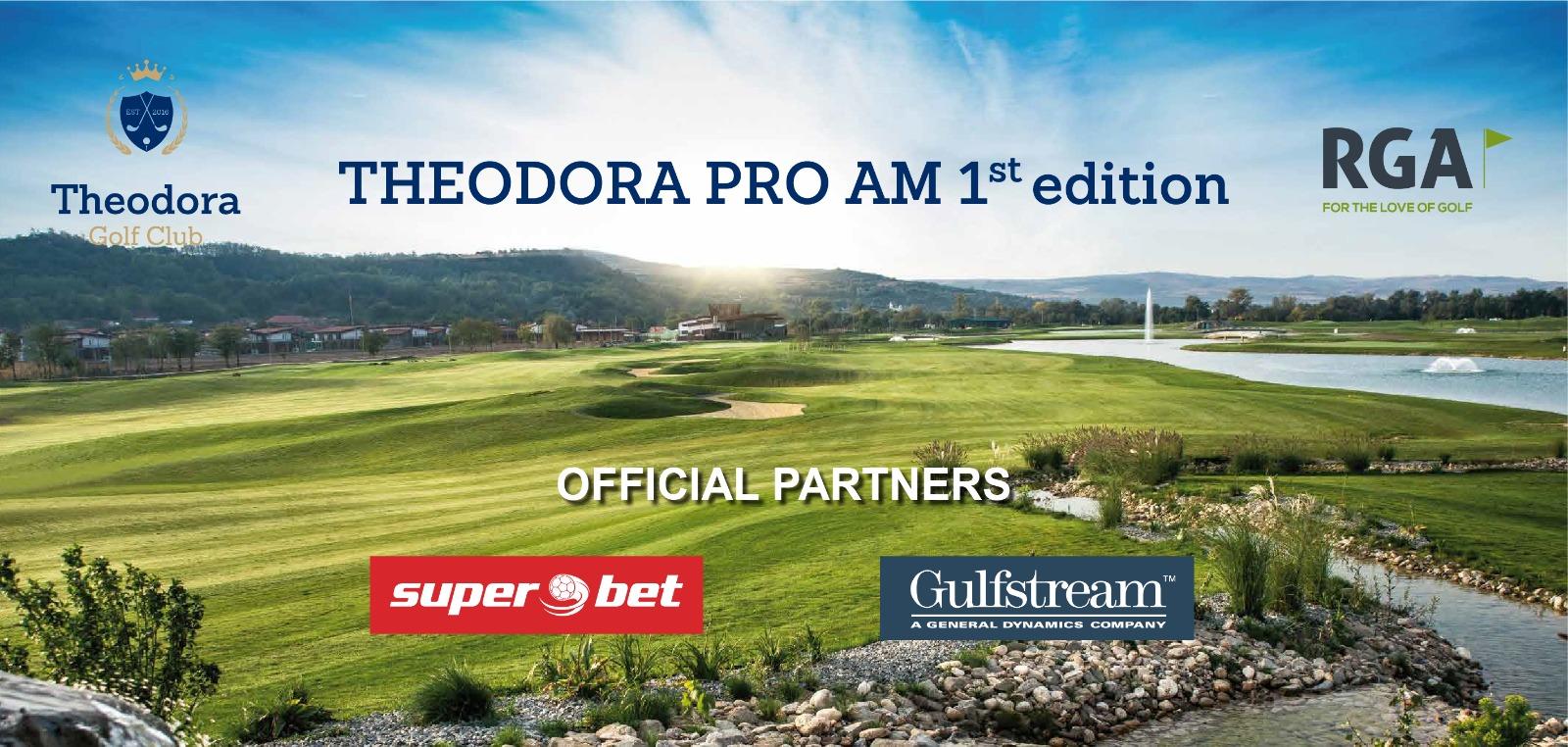 Primul turneu la nivel internațional  PRO AM din România va avea loc pe 17-20 iulie la Theodora Golf Club