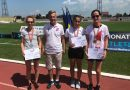 Ana Rodean din nou pe podium. CS Unirea Alba Iulia – patru medalii, dintre care două de aur, la Campionatul Național de Marș