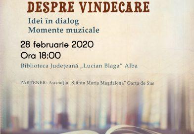 """Seratele bibliotecii. Biblioteca Județeană ,,Lucian Blaga"""" Alba- spațiu al ideilor și dialogului pe temă dată"""