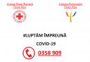 Crucea Roșie Română Filiala Alba oferă servicii de suport psihologic telefonic persoanelor aflate în izolare/ carantină