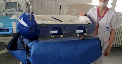 Salvați Copiii România va dona un incubator de transport spitalului din Sebeș