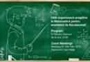 Universitatea 1 Decembrie organizeaza pregătire on-line la matematică pentru Bacalaureat. Vezi zilele în care poți participa!
