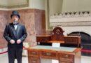 Exponatul Memoriei Unirii –  respectiv Biroul avocatului Aurel Lazăr