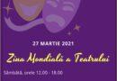 """De Ziua Mondială a Teatrului, Biblioteca Municipală """"Lucian Blaga"""" Sebeș găzduiește un eveniment on-line"""